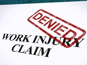 Why Your Workers Compensation Claim Will Be Denied